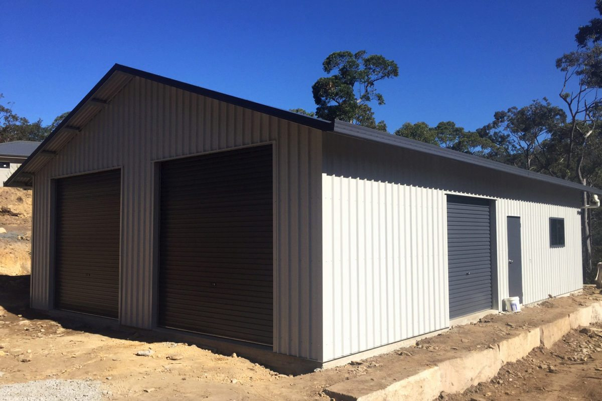 Ranbuild newcastle garages with eaves for sale newcastle for Single garages for sale