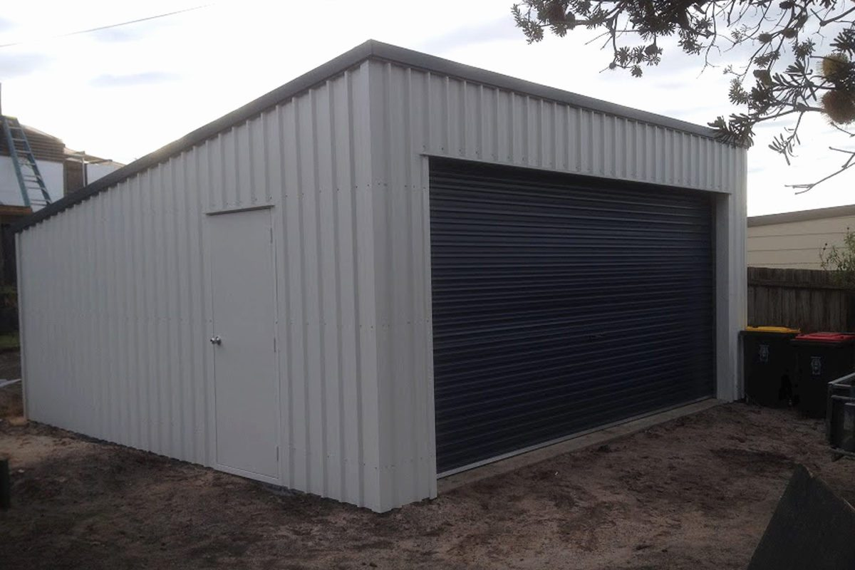 Newcastle skillion sheds and garages for sale newcastle for Home designs newcastle nsw