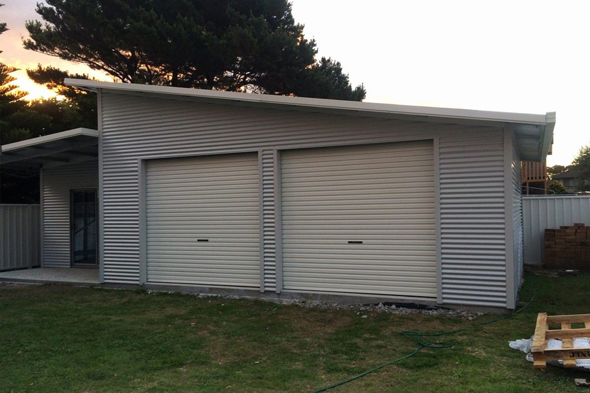 Newcastle Skillion Sheds And Garages For Sale Newcastle